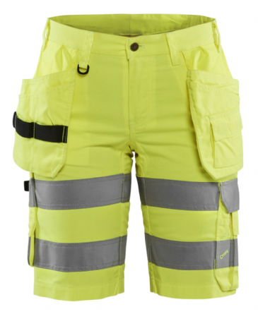 Blaklader 7186 Womens Hi Vis Work Shorts with Stretch